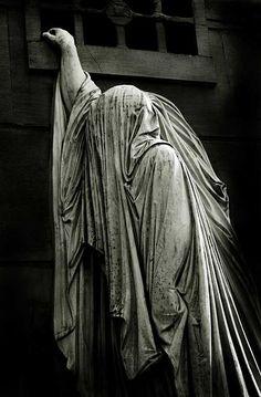 Madame Raspail's monument, Pere Lachaise Cemetery, Paris, France.