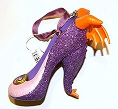 Amazon.com: Disney World WDW Park 2015 Epcot Figment Dragon Runway Shoe Slipper Christmas Ornament: Home & Kitchen