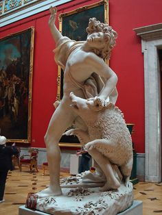 The Death of Adonis by Giuseppe Mazzuola, 1709, Hermitage Museum, Saint Petersburg, Russia.