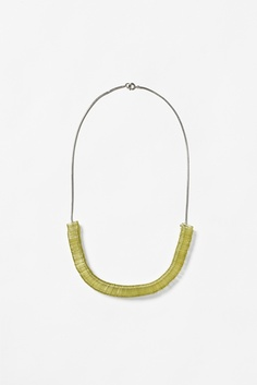 Acrylic square necklace