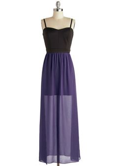 Gown by the Sea Dress in Aubergine, #ModCloth  I love this look. Elegant but not too dressy! Perfect for an enchanted evening.