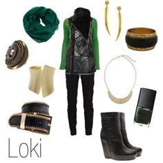 how to dress like loki :D