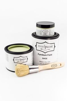 Beige Paint Colors, Gray Color, Painted Furniture For Sale, Pebble Painting, Painting Tips, Clay Paint, Wooden Tags, Green Furniture, Brown Paint