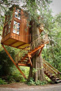 Trillium, Treehouse Point B&B, Washington / The Green Life <3