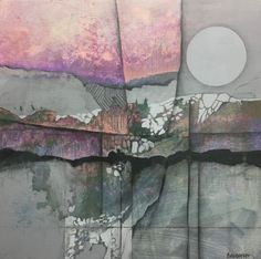 The MINDSCAPE paintings, all on 12″ X 12″ canvasses, are a series of landscape-like images, all of which originated in my mind. None is an actual place or a specific reference, though …