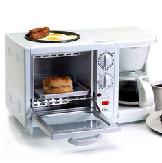 3-in-1 Breakfast Station - this is amazing