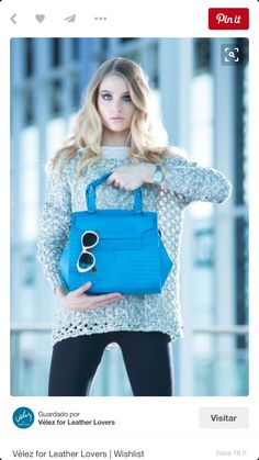 Vélez for Leather Lovers Hermes Kelly, Quito, Chic, Leather, Lovers, Bags, Colors, Blue Prints, Purses