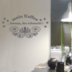 Wandtattoos,Kaffee mit Schnörkel,Aufkleber von mama und ich auf DaWanda.com Alle Kaffeefans aufgepasst. Tolles Wandtattoo günstig und gut.