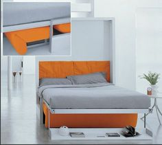 Ito Bed from Resource Furniture #murphybed #minimalistdesign