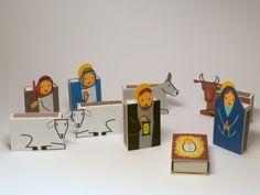 DIY Nativity Scenes: Matchbox Advent Calendar/Nativity