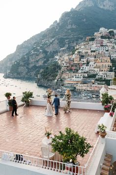 A bohemian elopement in Positano made with Pampas tree and orchids. A symbolic ceremony and a dinner just for 2 overlooking Positano, the most colorful and romantic town on the Amalfi Coast. Symbolic Ceremony wedding in Positano Wedding Venues Italy, Italian Wedding Venues, Italy Wedding, Elope Wedding, Weddings In Italy, Dream Wedding, Elopement Wedding, Wedding Dresses, Destination Wedding Inspiration