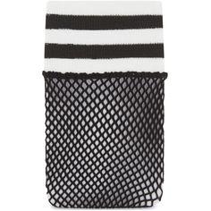 Free People Riot Sport fishnet sock ($12) ❤ liked on Polyvore featuring intimates, hosiery, socks, sport socks, no seam socks, sports socks, fishnet socks and seamless socks