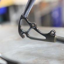 Cadre Victoire pour projet de vélo électrique innovant | Cycles Victoire