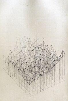 zeichnung 3d oberfläche