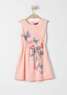 Chiffonkleid mit Flechtgürtel von s.Oliver. Entdecken Sie jetzt topaktuelle Mode für Damen, Herren und Kinder online und bestellen Sie versandkostenfrei.