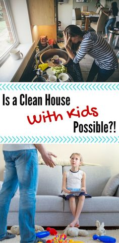Having a clean house decreases stress, fosters good habits and expectations in your kids, and decreases the odds of gouging your heel on a stray Barbie.
