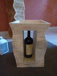 Monaco. Parallelepipedo Tavolino in montaggio libero di abete austriaco. di WoodnessDesign su Etsy
