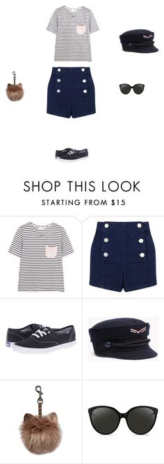 """""""Untitled #3543"""" by explorer-14576312872 ❤ liked on Polyvore featuring Chinti and Parker, Miss Selfridge, Keds and Linda Farrow"""