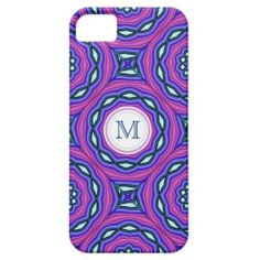 Monogram: Colorful Kaleidoscope iPhone 5/5S Case