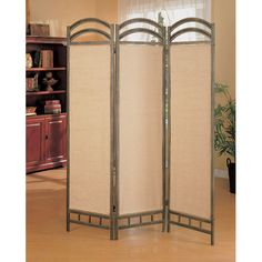 "Found it at Wayfair - 72"" x 56"" Oakville Folding 3 Panel Room Divider"