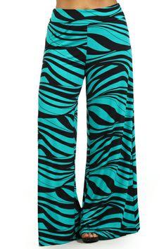 Plus Size Striped Wide Leg Fold Over High Waist Palazzo Flare Lounge Pants