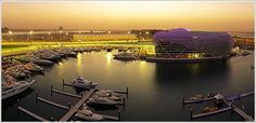 Make sure to visit Yas Island in Abu Dhabi, UAE, the Middle East.