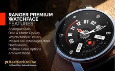 Buy Luxury Watches Online for men & women at low prices online in India. Explore latest collections of mens luxury watches from top brands at great offers #watch #wristwatch #premiumwatch #onlineshopping #BestKartOnline G Watch, Couple Watch, Buy Mobile, Watch Faces, Sunglasses Online, Luxury Watches For Men, Watches Online, Ranger