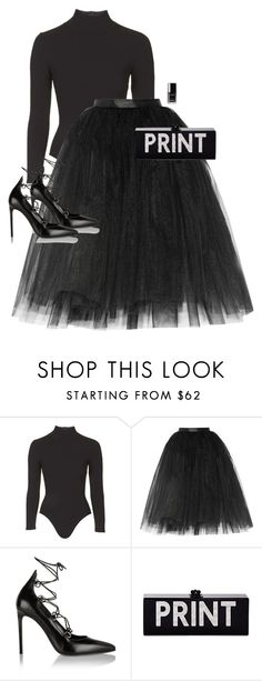 """""""Untitled #10045"""" by alexsrogers ❤ liked on Polyvore featuring Topshop, Ballet Beautiful, Yves Saint Laurent, Edie Parker and Chanel"""
