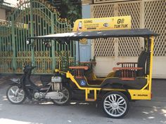 GO TUK TUK now offers Ride in our new custom wheelchair TUK TUK. Now GOING SOMEWHERE just got easier for everyone. Visit us at www.go-tuk-tuk.com