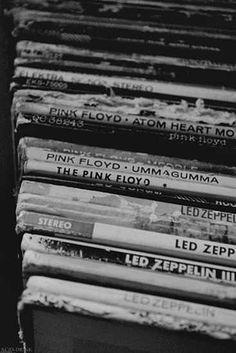 Classic rock vinyls: