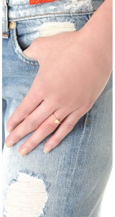 #shopbop.com              #ring                     #Jennifer #Meyer #Jewelry #Mini #Heart #Ring #SHOPBOP                         Jennifer Meyer Jewelry Mini Heart Ring | SHOPBOP                              http://www.seapai.com/product.aspx?PID=602132