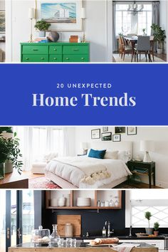 "20 Unexpected Home Trends via @PureWow.  Valspar Chalky Finish Paint in 'grosgrain"" followed by a coat of their sealing wax."