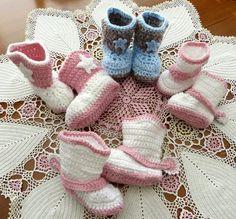 Hand Crocheted Baby Cowboy or Cowgirl by LaraineRoseHandiWorx