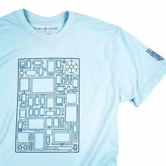 "Know your way through today's maze of gadgets? Check out our ""A Mazing Devices"" tee on our website (storyspark.com). #mensgift"