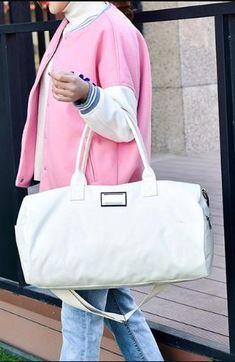 HIGHSEE Classic Duffel Creamy White Bag #cream #bag #classic Fashion Bags, Womens Fashion, Creamy White, Leather Bag, Gym Bag, Duffel Bags, Shoulder Bag, Classic, Lifestyle