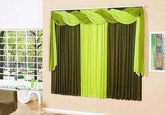 Resultado de imagen para cortinas para salas modernas verdes