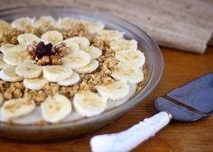 Vegan Banana Cream Pie (No Bake Recipe)