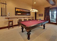 If There Not Enough Room For A Snookertable Then We Settle Pooltable