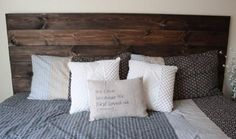 DIY How To Make Your Own Wood Headboard – Primitive Star Quilt Shop