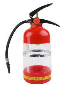 Garrafa Termica - Extintor de Incêndio. Acho bastante válido!