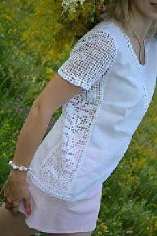 Fabulous Crochet a Little Black Crochet Dress Ideas. Georgeous Crochet a Little Black Crochet Dress Ideas. Filet Crochet, T-shirt Au Crochet, Pull Crochet, Crochet Shell Stitch, Crochet Gratis, Crochet Shirt, Crochet Jacket, Cotton Crochet, Crochet Summer