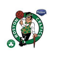 Boston Celtics: Logo - Large Officially Licensed NBA Removable Wall Decal