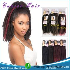 afro kinky curly crochet Twist tissage,braiding hair