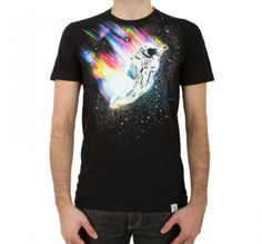 6a14e12d3 Imaginary Foundation Astronaut Leap Men's T Man Child, Cute Shirts,  Astronaut, My Man