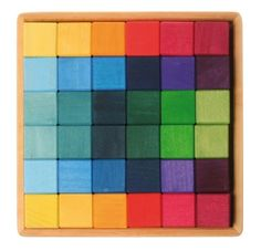 Vierkante blokkenset 36-delig, Grimm's