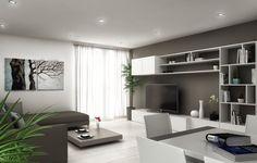 Sfoglia immagini di Soggiorno in stile in stile Moderno e di colore bianco : . Lasciati ispirare dalle nostre immagini per trovare l'idea perfetta per la tua casa.