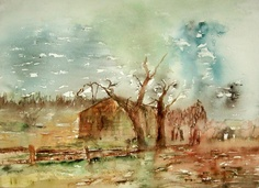 Eloge de la nature - Painting by Hichem Gassouma in My Diary at touchtalent 71592