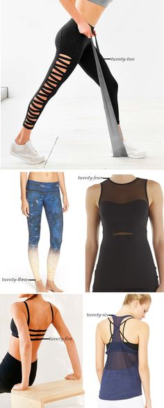 Yoga Clothes That Are Stylish and Functional #yoga