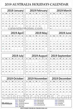 49 Best Holidays Calendar 2019 Images On Pinterest