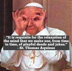 JP II  //  St. Thomas Aquinas quote